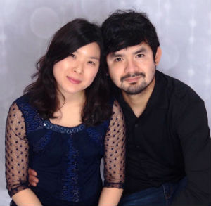 SOU MBA student Raul Villagomez with his wife